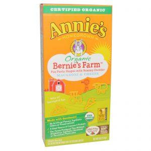 Annie's Homegrown, Macarrão e Queijo Bernie's Farm Orgânico, 6 oz (170 g)   Comprar Suplemento em Promoção Site Barato e Bom