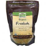 Now Foods, Freekeh Orgânico, 16 oz (454 g)   Comprar Suplemento em Promoção Site Barato e Bom