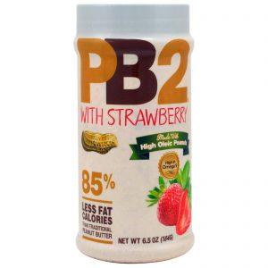 Bell Plantation, PB2, Manteiga de Amendoim em Pó com Morango, 6.5 oz (184 g)   Comprar Suplemento em Promoção Site Barato e Bom