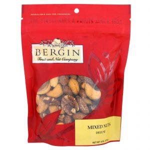 Bergin Fruit and Nut Company, Mixed Nuts, Deluxe, 6 oz (170 g)   Comprar Suplemento em Promoção Site Barato e Bom