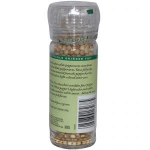 Frontier Natural Products, Pimenta Branca do Ceilão Orgânica em grãos, 2,08 onças (59 g)   Comprar Suplemento em Promoção Site Barato e Bom
