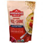 Arrowhead Mills, Integral, Arroz Orgânico e Brilho, Cereal Quente, 24 oz (680 g)   Comprar Suplemento em Promoção Site Barato e Bom