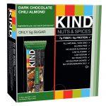 KIND Bars, Nozes e Especiarias, Chocolate Amargo com Pimenta e Amêndoas, 12 Barras, 1.4 oz (40g) Cada   Comprar Suplemento em Promoção Site Barato e Bom