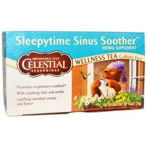 Celestial Seasonings, Suavizador Sinusal Para Dormir, Chá do Bem Estar, Descafeinado, 20 Saquinhos de Chá 1,2 oz (35 g)   Comprar Suplemento em Promoção Site Barato e Bom