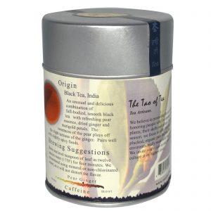 The Tao of Tea, Mistura de Chá Preto, Gengibre e Essência de Pera, 4 onças (115 g)   Comprar Suplemento em Promoção Site Barato e Bom