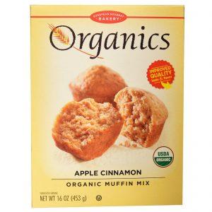 European Gourmet Bakery, Mistura para Muffins Orgânica, Maçã e Canela, 16 oz (453 g)   Comprar Suplemento em Promoção Site Barato e Bom