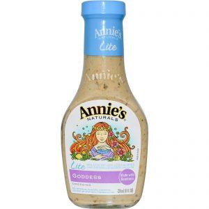 Annie's Naturals, Molho Para Salada Lite Goddess, 8 fl oz (236 ml)   Comprar Suplemento em Promoção Site Barato e Bom