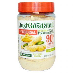 Betty Lou's, Just Great Stuff, Manteiga de Amendoim Orgânica em Pó, A Original, 6.35 oz (180 g)   Comprar Suplemento em Promoção Site Barato e Bom