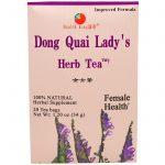 Health King, Chá de Erva da Dama de Dong Quai, 20 sacos de chá, 1,20 oz (34 g)   Comprar Suplemento em Promoção Site Barato e Bom