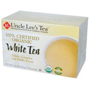 Uncle Lee's Tea, 100% Certificado Orgânico, chá branco, 18 sacos de chá, 1,02 oz (29 g)   Comprar Suplemento em Promoção Site Barato e Bom