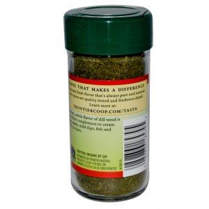 Frontier Natural Products, Erva Aneto/Endro Orgânica, Picada, 0,71 onças (20 g)   Comprar Suplemento em Promoção Site Barato e Bom
