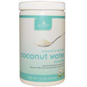Activz, Pó de Água de Coco Orgânico, 7,9 oz (224 g)   Comprar Suplemento em Promoção Site Barato e Bom