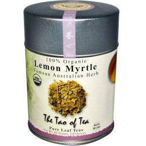 The Tao of Tea, Famosa Erva Australiana Orgânica, Mirtilo de Limão, Sem Caféina, 3 oz (85 g)   Comprar Suplemento em Promoção Site Barato e Bom