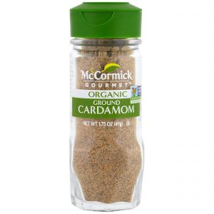 McCormick Gourmet, Orgânico, Cardamomo Moído, 1,75 oz (49 g)   Comprar Suplemento em Promoção Site Barato e Bom