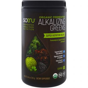 SoTru, Verduras Alcalinizantes Orgânicas Fermentadas, 8,46 oz (240 g)   Comprar Suplemento em Promoção Site Barato e Bom