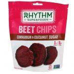 Rhythm Superfoods, Lascas de Beterraba, Canela e Açúcar de Coco, 40 g (1,4 oz)   Comprar Suplemento em Promoção Site Barato e Bom