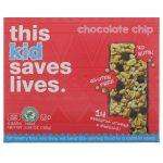 This Bar Saves Lives, LLC, Kid, Chocolate Chip, 5 Bars, 5.64 oz (160 g)   Comprar Suplemento em Promoção Site Barato e Bom