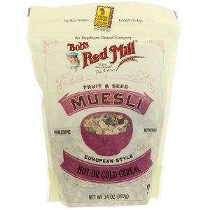 Bob's Red Mill, Muesli, Fruta e Semente, 14 oz (397 g)   Comprar Suplemento em Promoção Site Barato e Bom