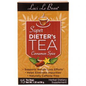 Natrol, Laci Le Beau, super chá para dietas, aroma de canela, 15 sachês de chá, 1,32 oz (38 g)   Comprar Suplemento em Promoção Site Barato e Bom