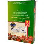 Garden of Life, Perfect Food, Barras Verdes Orgânicas com Cobertura de Chocolate, Chocolate e Framboesa, 12 Barras, 64 g (2,25 oz) Cada   Comprar Suplemento em Promoção Site Barato e Bom