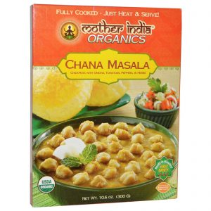 Great Eastern Sun, Mother India Organics, Chana Masala, Picante, 10,6 oz (300 g)   Comprar Suplemento em Promoção Site Barato e Bom