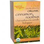 Uncle Lee's Tea, Imperial Organic, Chai Canela Rooibos, Sem Cafeína, 18 Sacos de Chá, 1,14 oz (32,4 g)   Comprar Suplemento em Promoção Site Barato e Bom