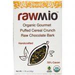 Rawmio, Orgânico Gourmet, Explosão de Cereal Crocante, Casca de Chocolate Cru, 1.76 oz (50 g)   Comprar Suplemento em Promoção Site Barato e Bom