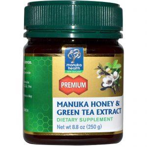 Manuka Health, Extrato de Mel de Manuka e Chá Verde, 8.8 oz (250g)   Comprar Suplemento em Promoção Site Barato e Bom