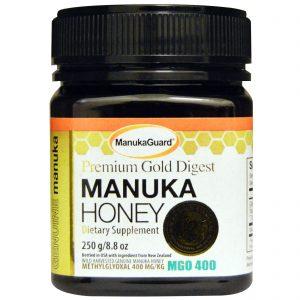 Manuka Guard, Alívio de Ouro Premium Para Digestão, Mel de Manuka, 8,8 oz (250 g)   Comprar Suplemento em Promoção Site Barato e Bom
