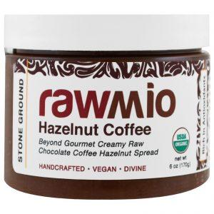 Rawmio, Organic, Hazelnut Coffee, 6 oz (170 g)   Comprar Suplemento em Promoção Site Barato e Bom
