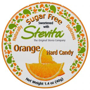 Stevita, Doce de Laranja Forte, Sem Açúcar, 40 g   Comprar Suplemento em Promoção Site Barato e Bom