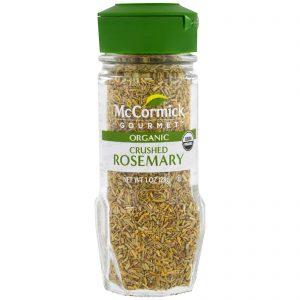 McCormick Gourmet, Orgânico, Alecrim Esmagado, 1 oz (28 g)   Comprar Suplemento em Promoção Site Barato e Bom