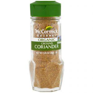 McCormick Gourmet, Orgânico, Coentro Moído, 1.25 oz (35 g)   Comprar Suplemento em Promoção Site Barato e Bom