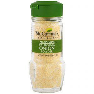 McCormick Gourmet, Completamente Natural, Pó de Cebola, 2 oz (56 g)   Comprar Suplemento em Promoção Site Barato e Bom