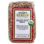 Bergin Fruit and Nut Company, Feijão Carioca Orgânico, 16 oz (454 g)   Comprar Suplemento em Promoção Site Barato e Bom