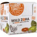 Wild Zora Foods LLC, Barra de Carne e Vegetais, Peru ao Curry com Tâmaras, Cardamomo e Espinafre, 10 Pacotes, 28 g (1 oz) Cada   Comprar Suplemento em Promoção Site Barato e Bom