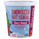 Earnest Eats, Cereal Quente Energizado, Cereja e Amêndoa, 60 g (2,1 oz)   Comprar Suplemento em Promoção Site Barato e Bom