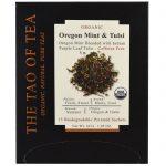 The Tao of Tea, Chá Orgânico de Hortelã-do-Oregon e Tulsi, 15 Saquinhos Piramidais, 30 g (1,05 oz)   Comprar Suplemento em Promoção Site Barato e Bom