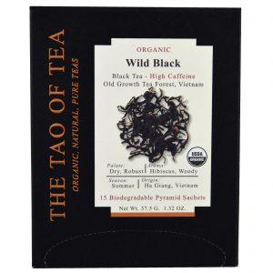 The Tao of Tea, Chá Preto Silvestre Orgânico, 15 Saquinhos Piramidais, 37,5 g (1,32 oz)   Comprar Suplemento em Promoção Site Barato e Bom