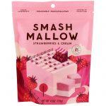 SmashMallow, Morangos e creme, 4,5 onças (128 g)   Comprar Suplemento em Promoção Site Barato e Bom