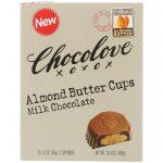 Chocolove, Copos de manteiga de amêndoa, chocolate ao leite, pacotes de 12 - 2 xícaras, 34 g (1,2 oz) cada um   Comprar Suplemento em Promoção Site Barato e Bom