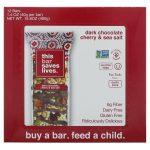 This Bar Saves Lives, LLC, Dark Chocolate Cherry & Sea Salt, 12 Bars, 16.8 oz (480 g)   Comprar Suplemento em Promoção Site Barato e Bom