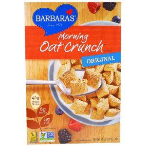 Barbara's Bakery, Cereal Morning Oat Crunch, Original, 14 oz (397 g)   Comprar Suplemento em Promoção Site Barato e Bom