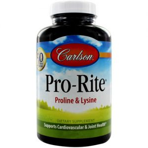 Carlson Labs Pro-Rite - 500 mg - 180 Tabletes   Comprar Suplemento em Promoção Site Barato e Bom