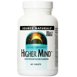 Source Naturals Mente Superior c / fosfatidilserina 60 Tabletes   Comprar Suplemento em Promoção Site Barato e Bom