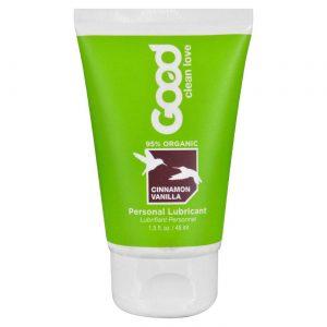 Good Clean Love Personal Lubrificante, Baunilha de canela - 1.5 oz   Comprar Suplemento em Promoção Site Barato e Bom