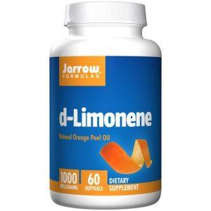 Jarrow Formulas d-Limonene - 60 Cápsulas em Gel   Comprar Suplemento em Promoção Site Barato e Bom
