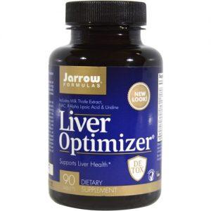 Jarrow Formulas Liver Optimizer - 90 Tabletes   Comprar Suplemento em Promoção Site Barato e Bom