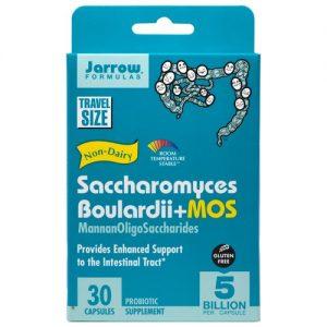 Jarrow Formulas Saccharomyces Boulardii + MOS - 30 Cápsulas   Comprar Suplemento em Promoção Site Barato e Bom