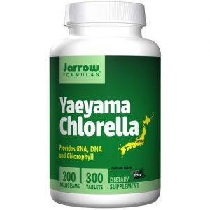 Jarrow Formulas Yaeyama Chlorella - 200 mg - 300 Tablets   Comprar Suplemento em Promoção Site Barato e Bom